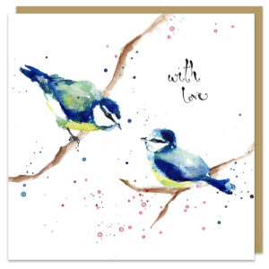 With love card by louise mulgrew