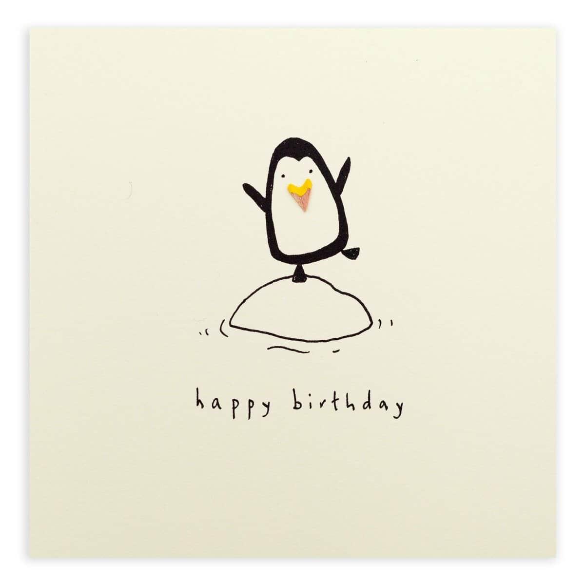 Birthday penguin by ruth jackson