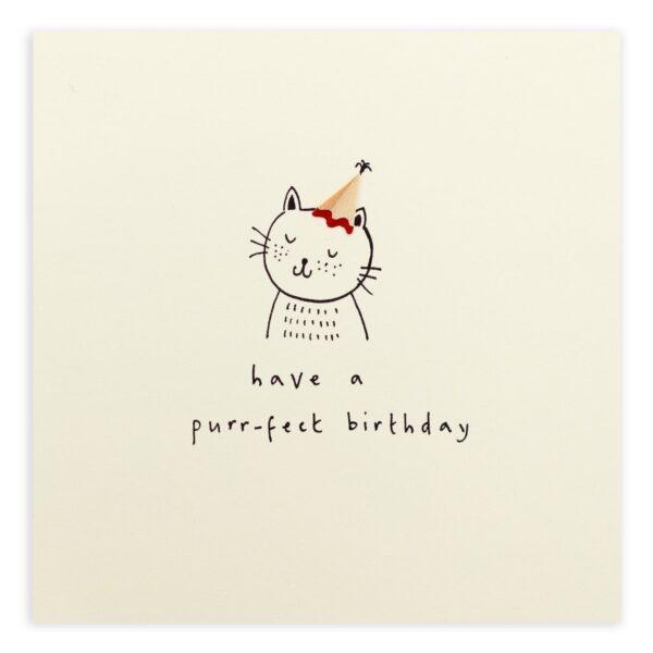 Birthday purrfect by ruth jackson