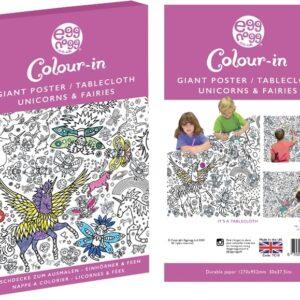 Fairies colour in tablecloth by eggnogg
