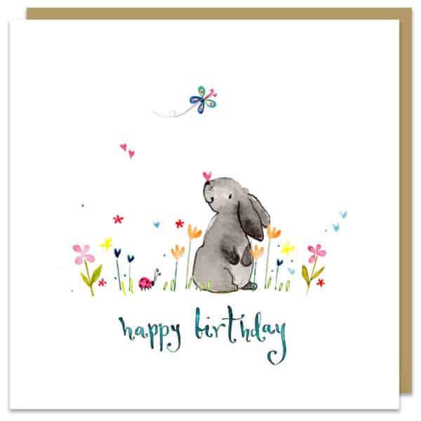 Birthday bunny by louise mulgrew