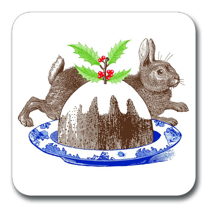 Christmas pudding potstand by Thornback & Peel