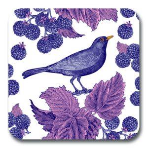 Blackbird & Bramble potstand by Thornback & Peel