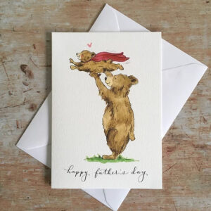 Fathers day bears by ellie hooi illustration