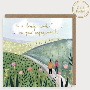 Engagement card by louise mulgrew