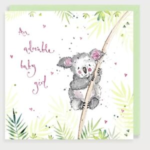 Koala baby girl by louise mulgrew