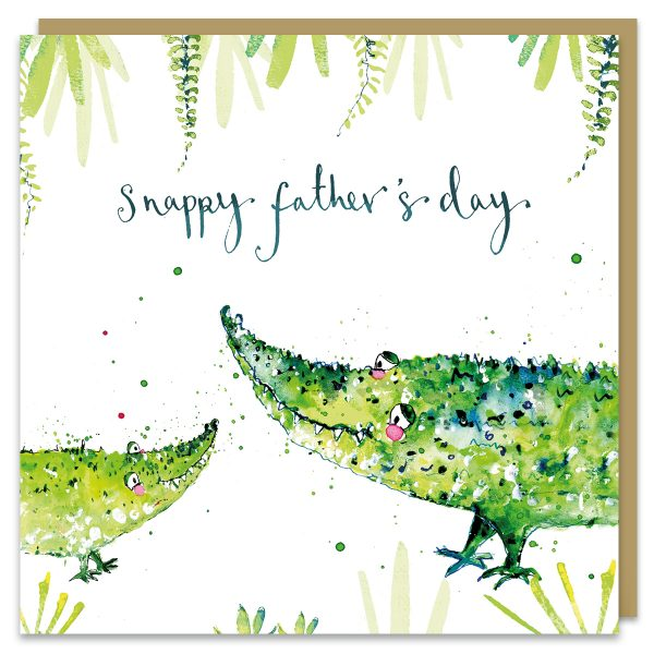 Crocs snappy fathers day by louise mulgrew