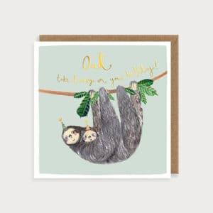 Sloths dad by louise mulgrew