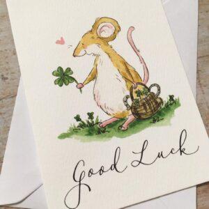 Good luck by ellie hooi illustration
