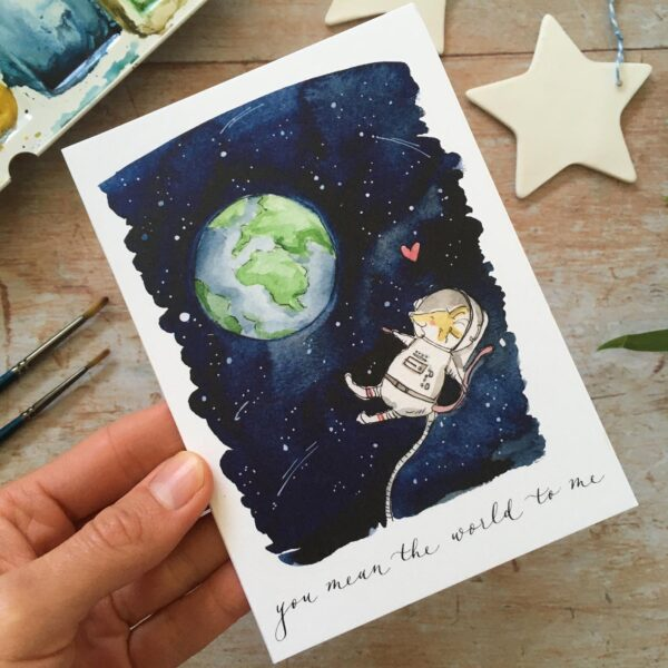 You mean the world by ellie hooi illustration