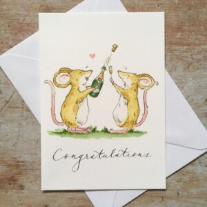 Congratulations by ellie hooi illustration
