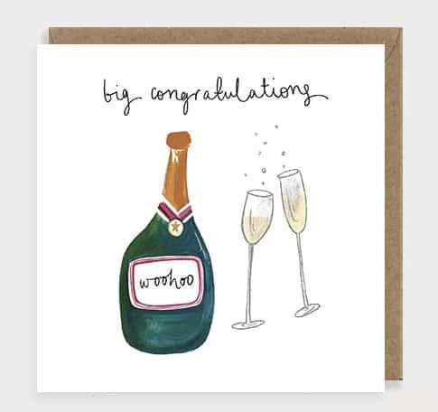 Big congratulations by louise mulgrew