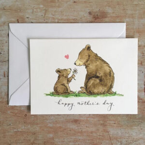 Mothers day bears by ellie hooi illustration