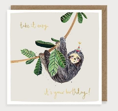 Sloth by louise mulgrew