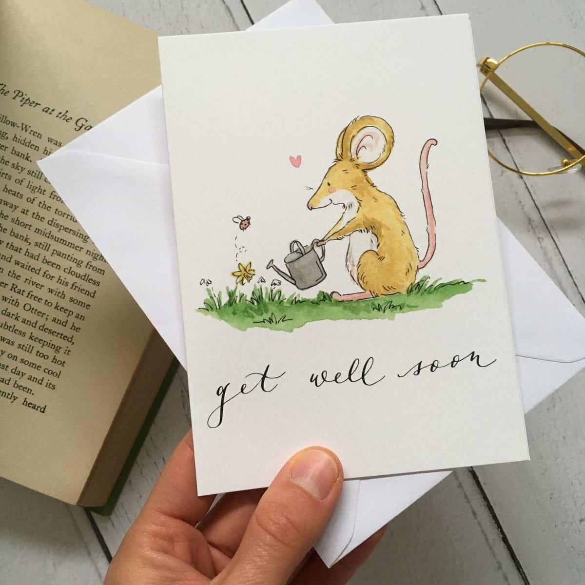 Get well by ellie hooi illustration