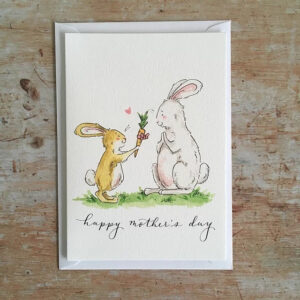 Mothers day bunnies by ellie hooi illustration