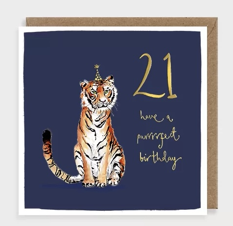 Tiger 21 by louise mulgrew