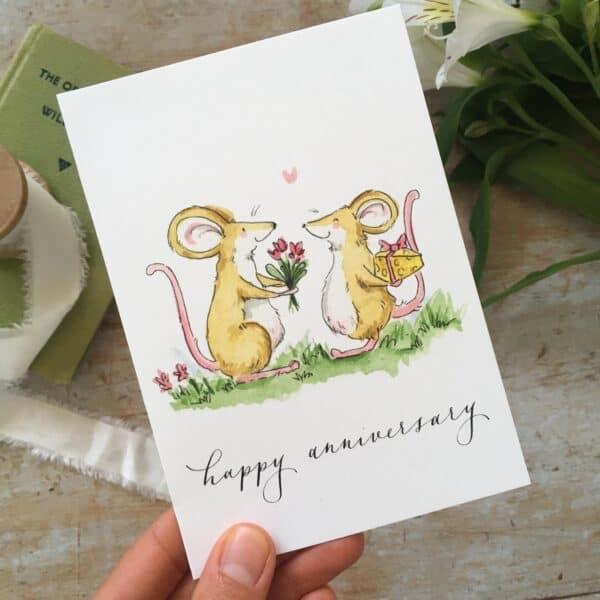 Anniversary by ellie hooi illustration