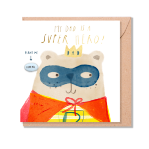 Superhero dad by lucy & lolly