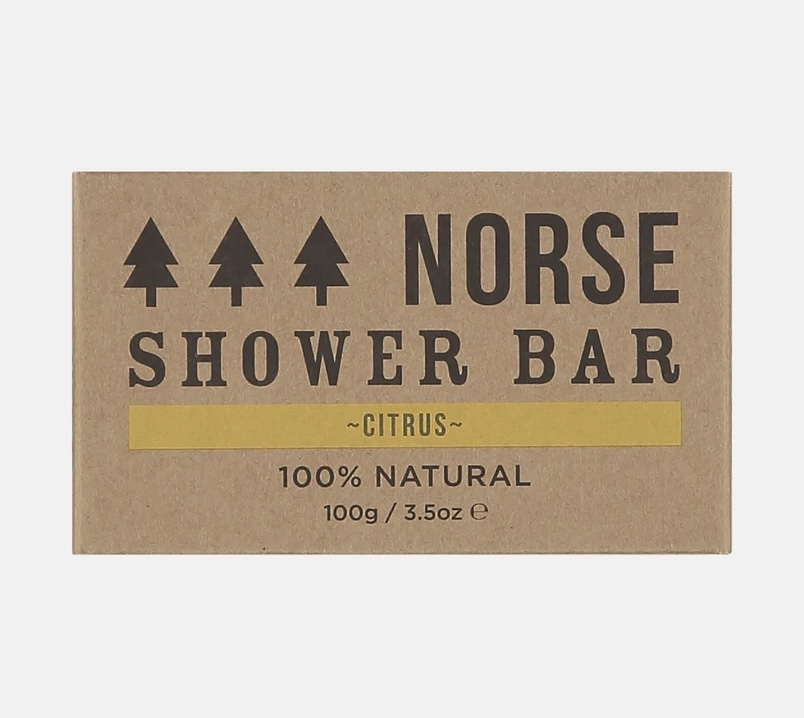 Citrus shower bar by norse