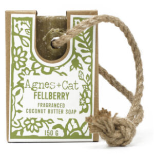 Fellberry soap on a rope by agnes + cat