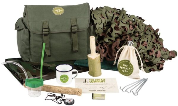 Forest school den kit