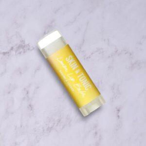 Lemon organic lip balm by skin & tonic