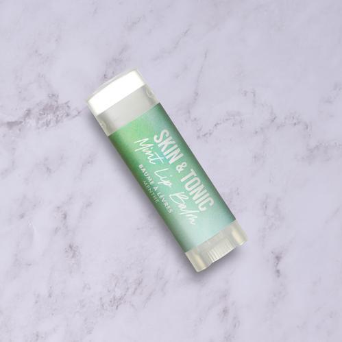 Mint organic lip balm byskin & tonic