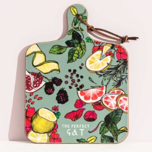 The perfect G&T kitchen board by Katie Cardew