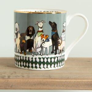 Dogs mug by katie cardew