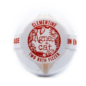 Clementine bath bomb