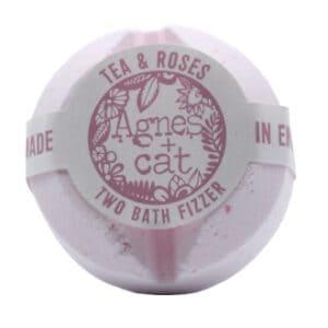 Tea & roses bath bomb