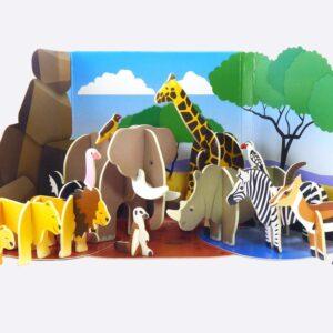 Savannah Animals Eco-Friendly Playset