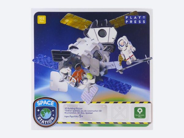 Space Station Eco-Friendly Playset