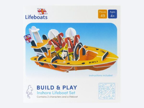 RNLI Lifeboat Eco-Friendly Playset
