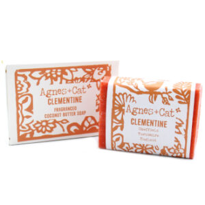 Clementine soap by agnes + cat