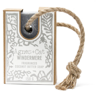 Windermere soap on a rope by agnes + cat