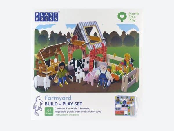 Farmyard Eco-Friendly Playset By play press