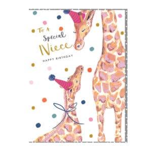 Niece giraffe by louise tiler