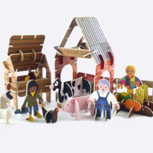 Farmyard Eco-Friendly Playset