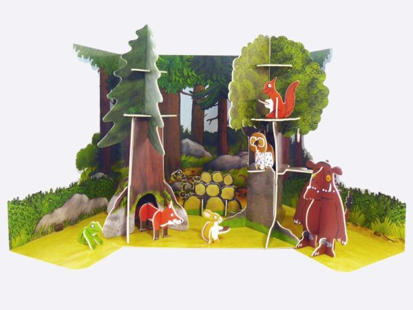 The Gruffalo Eco-Friendly Playset By play-press toys