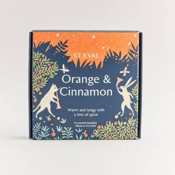 Orange & cinanmon tealights by st eval