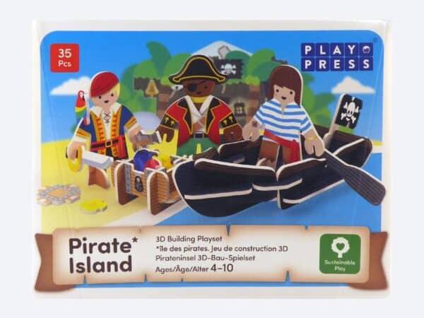 Pirate island by play press
