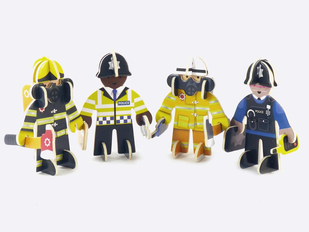 Rescue Team Eco Playset by Play Press