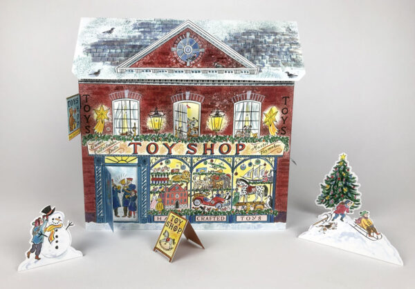 Toyshop advent calendar by emily sutton