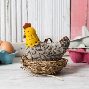 French hen craft kit by corinne lapierre