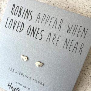 Robin Sterling Silver Earrings by Hayley & Co