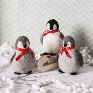 Baby Penguins Felt Craft Kit