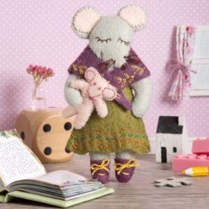 Little Miss Mouse Felt Craft Kit