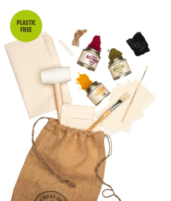 The Natural Fabric Art Kit by The Den Kit Company